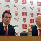 Arsenal press conference with Ivan Gazidis and Unai Emery