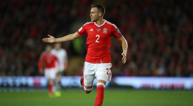 Chris Gunter believes Wales are on the right track after making long trips to China and the United States (Nick Potts/PA)