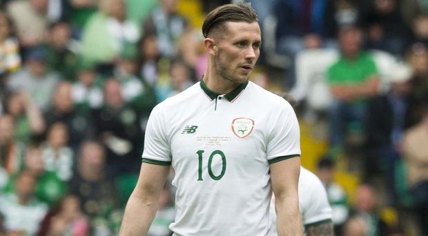 Republic of Ireland midfielder Alan Browne is hoping for another chance in France