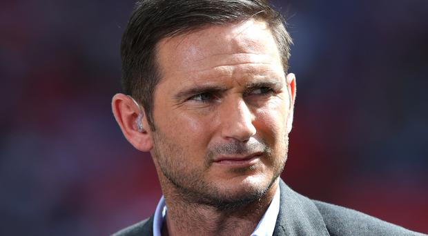Frank Lampard is in talks with Derby