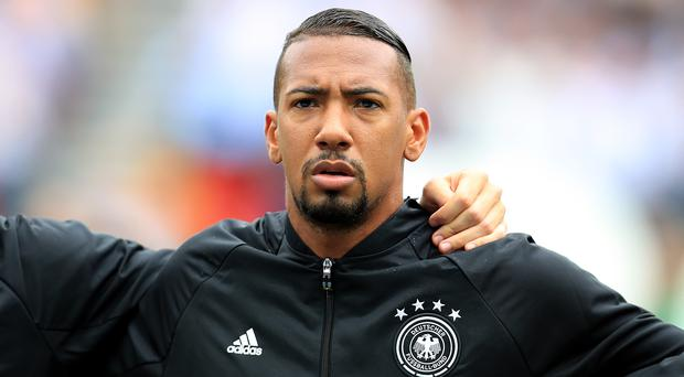 Jerome Boateng has moved a step closer to fitness ahead of the World Cup (Mike Egerton/PA)