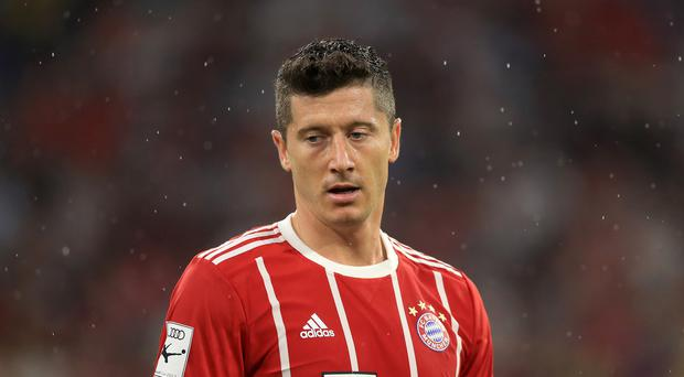 Bayern Munich's Robert Lewandowski is regarded as one of Europe's top strikers (Tim Goode/Empics)