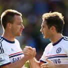 John Terry (left) and Frank Lampard played together for Chelsea and England. (Chris Radburn/PA)