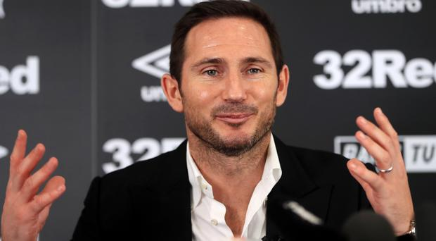 Frank Lampard is taking his first steps in management (Simon Cooper/PA)