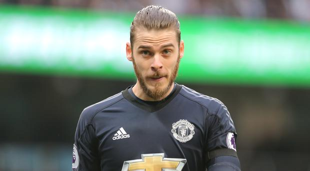 David De Gea made a rare mistake for Spain (Richard Sellers/Empics)