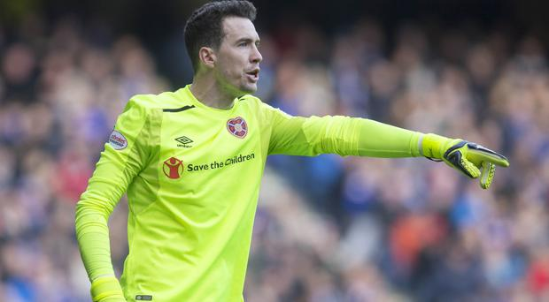 Jon McLaughlin is out of contract at Hearts (Jeff Holmes/PA)