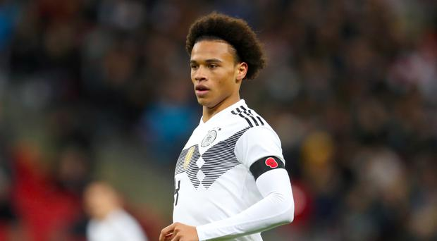 Germany's Leroy Sane will not be going to the World Cup (Adam Davy/Empics)