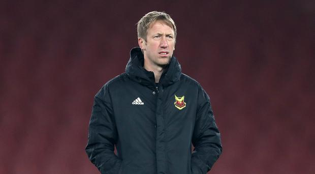 Graham Potter will become the new Swansea manager after a compensation package was agreed with Swedish club Ostersund. (Adam Davy/PA)
