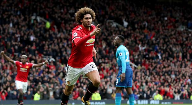 Marouane Fellaini could be on his way out of Old Trafford (Martin Rickett/PA)