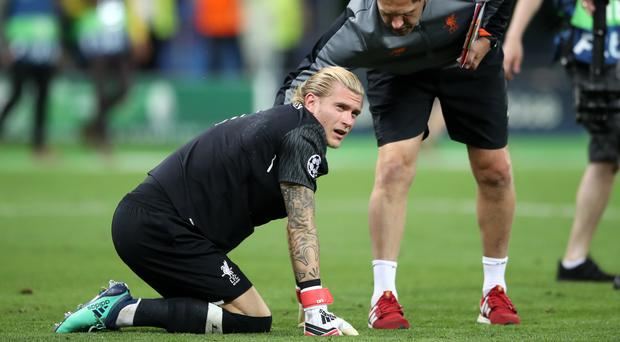 Liverpool goalkeeper Loris Karius was at fault for two Real Madrid goals in the Champions League final (Nick Potts/PA)