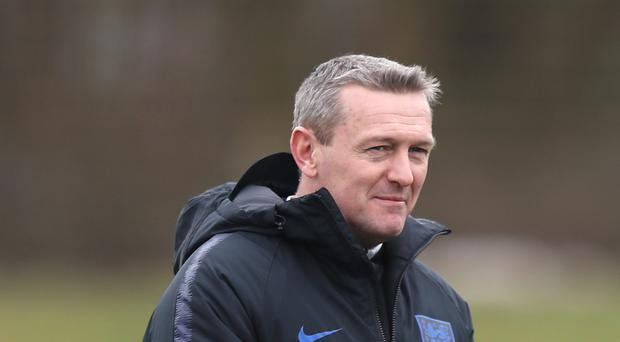 England Under-21 manager Aidy Boothroyd is looking to guide the Young Lions to the Toulon Tournament final. (Simon Cooper/PA)