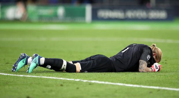 Loris Karius reportedly suffered concussion after a clash with Sergio Ramos (Nick Potts/PA)
