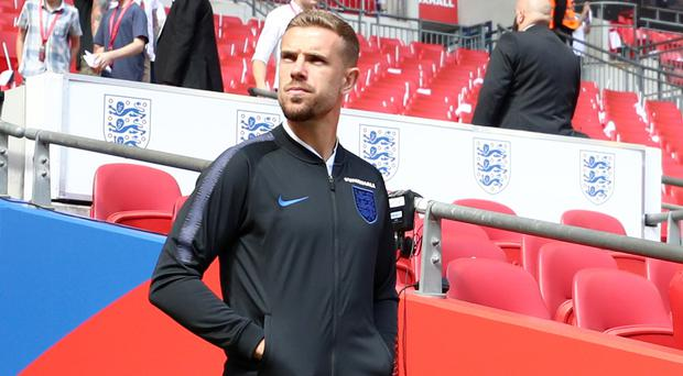 England's Jordan Henderson is ready to put his Champions League woe to one side (Tim Goode/PA)