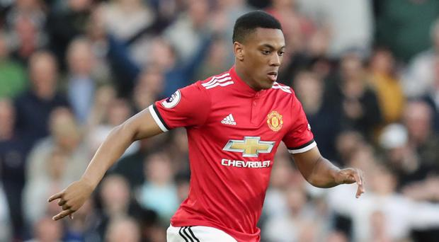 Manchester United's Anthony Martial could be heading out of Old Trafford (Gareth Fuller/PA)