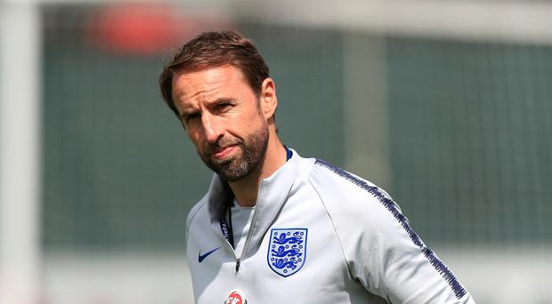 England manager Gareth Southgate has one final friendly before the World Cup (Mike Egerton/PA)