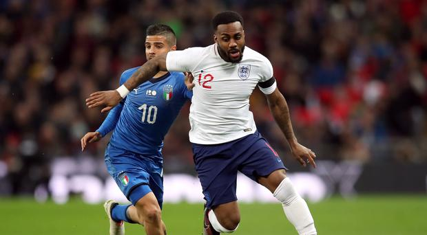 Danny Rose, right, was in impressive form for England against Costa Rica (Adam Davy/PA)