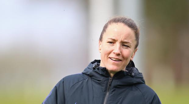 Former England player Casey Stoney is the head coach of the new Manchester United women's team (Nigel French/PA)