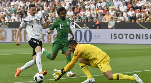 Germany ended a run of five matches without a victory (Martin Meissner/AP)