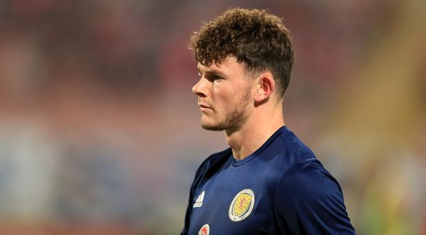 Oliver Burke was denied as Scotland lost in a shoot-out (John Walton/PA)