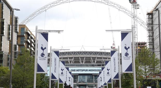 Tottenham will be back at Wembley for one game against Fulham on August 18 (Paul Harding/EMPICS)