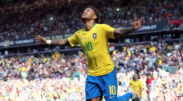 Brazil's Neymar has admitted he is nor worth the £200million that Paris St Germain paid for him (Nick Potts/PA)