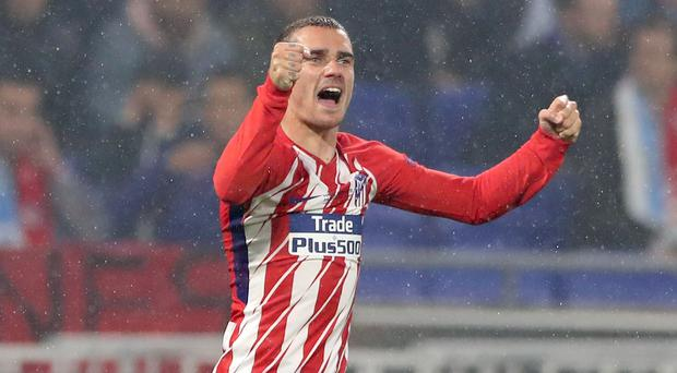 Antoine Griezmann is staying at Atletico Madrid (Nick Potts/PA)