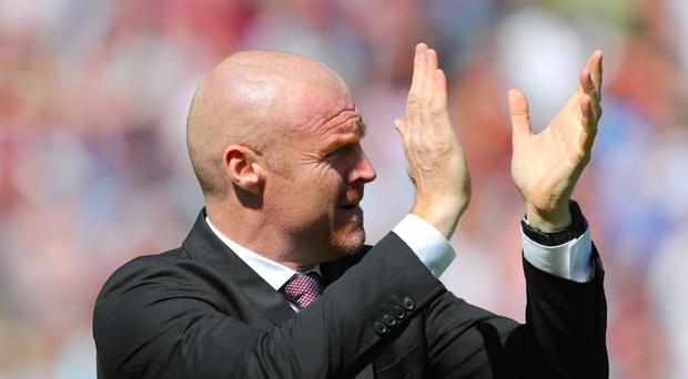 Burnley boss Sean Dyche will send his side into Europa League battle with Aberdeen (Richard Sellers/EMPICS)