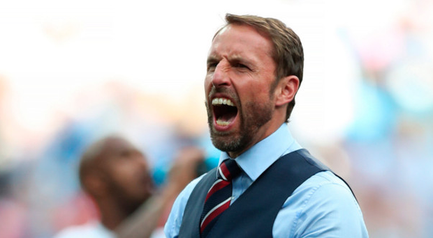 Clear focus: Gareth Southgate hails the 6-1 win against Panama, but he is keeping England's feet on the ground