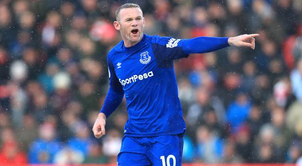 Wayne Rooney has left Everton after just one season back at his boybood club (Mike Egerton/PA)