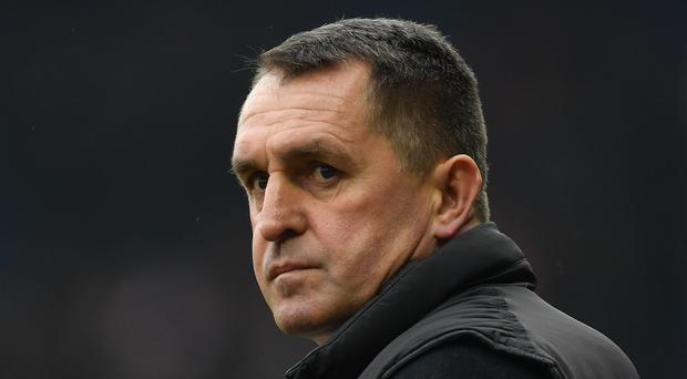 Martin Allen has taken over Chesterfield's official website and his announcements have generated a lot of attention (Joe Giddens/PA)
