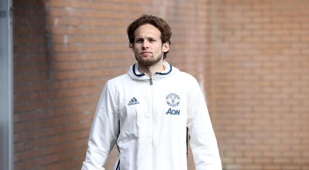 Daley Blind is set to return to Ajax (Martin Rickett/PA)