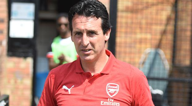 Unai Emery saw plenty of goals at Boreham Wood (Daniel Hambury/PA)