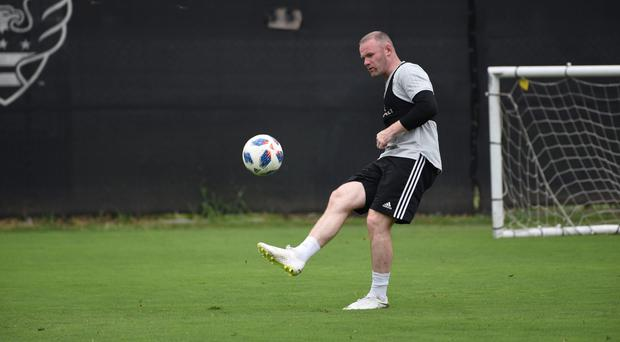 Wayne Rooney had an assist on his MLS debut (DC United/PA)