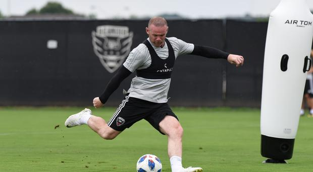 Wayne Rooney played his first DC United game at the weekend (DC United)