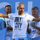 Can Pep Guardiola's Manchester City repeat their title triumph? (Richard Sellers/PA)