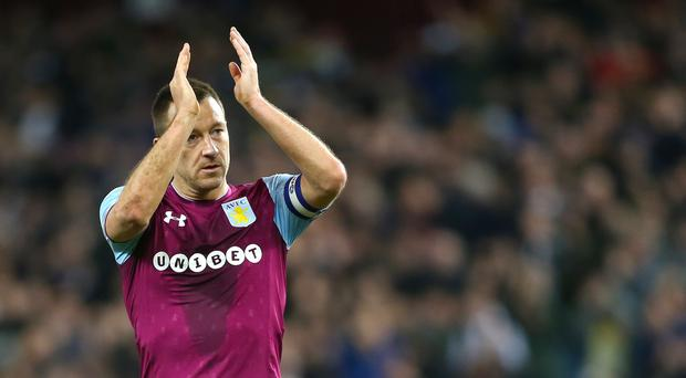 John Terry says he has not retired from football (Nigel French/PA)