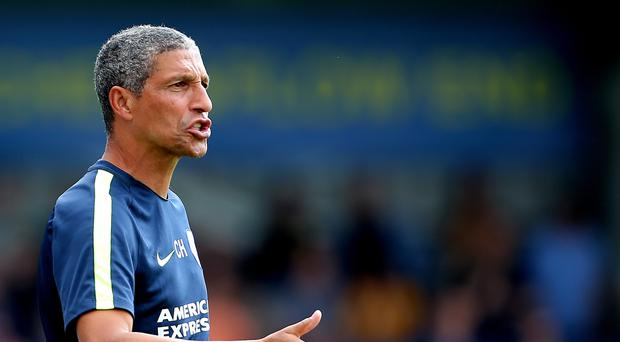 Brighton manager Chris Hughton has had a busy summer in the transfer window
