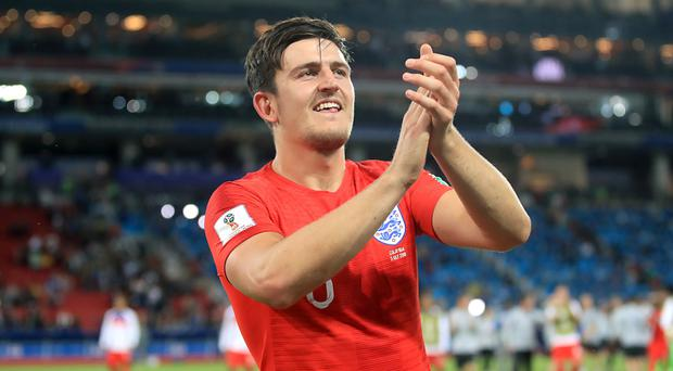 World Cup star Harry Maguire is being eyed up by Manchester United, according to reports (Adam Davy/PA)