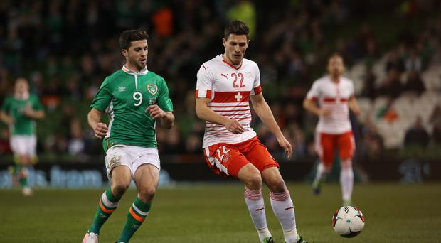 Newcastle have signed Switzerland defender Fabian Schar (Brian Lawless/PA Archive)