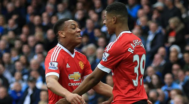 Marcus Rashford (right) and Anthony Martial can fire Manchester United to success, according to Dimitar Berbatov