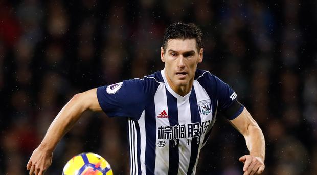 West Brom's Gareth Barry returned to training this week. (Martin Rickett/PA)