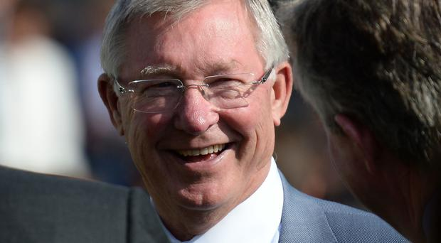 Sir Alex Ferguson was rushed to hospital in May.