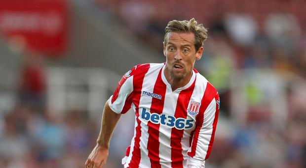 Peter Crouch's Premier League tenure could continue in the 2018/19 season (Nick Potts/PA)