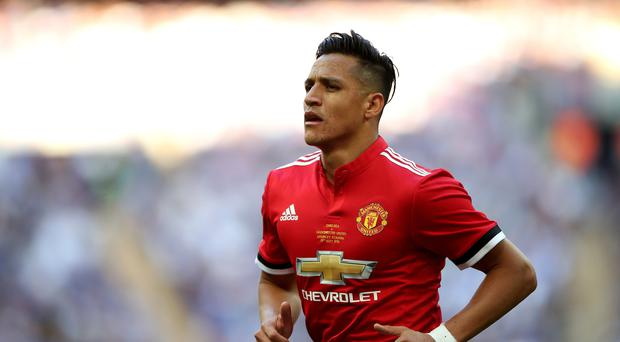 Manchester United's Alexis Sanchez had a goal and an assist (Nick Potts/PA)