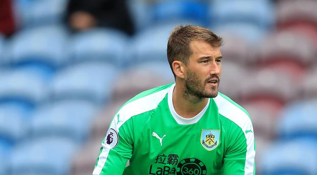 Burnley could register fourth choice keeper Adam Legzdins ahead of their clash with Aberdeen (Mike Egerton/PA)