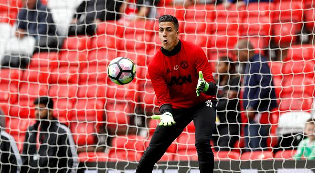 Manchester United's Joel Pereira has gone out on loan (Martin Rickett/PA)