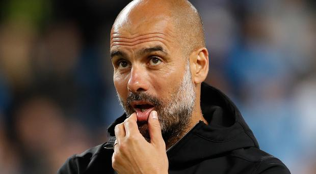 Manchester City manager Pep Guardiola aims to start the season with silverware (Martin Rickett/PA)
