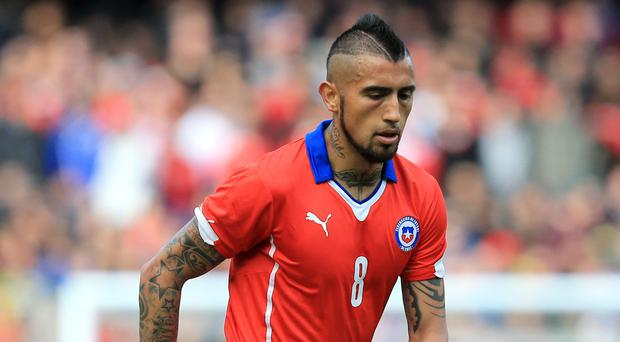 Chile midfielder Arturo Vidal is swapping Bayern Munich for Barcelona (Gareth Fuller/PA)
