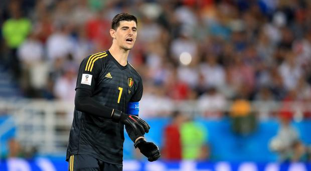 Thibaut Courtois reportedly failed to turn up to training on Monday (PA)