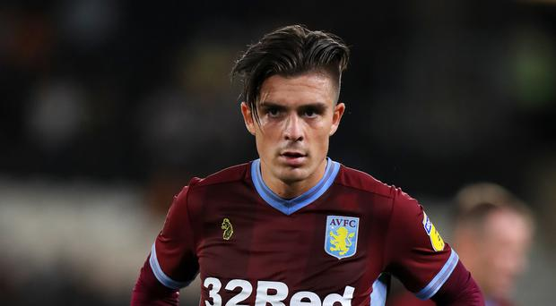 Aston Villa's Jack Grealish is set to stay at the club. (Mike Egerton/PA)